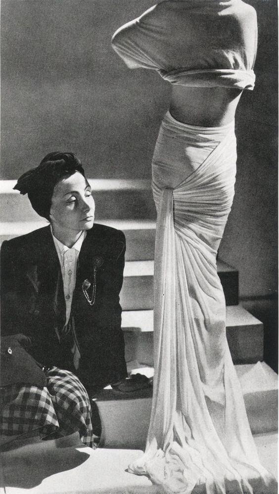 Madame Grès retrato