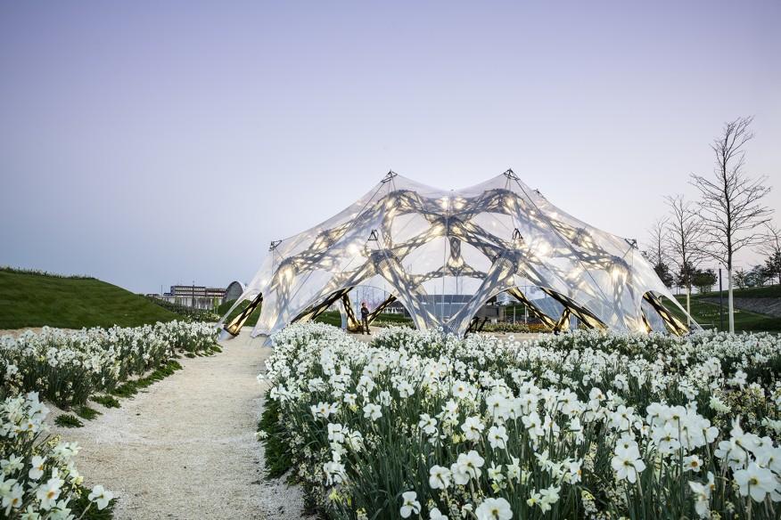 la fibra de carbono en arquitectura