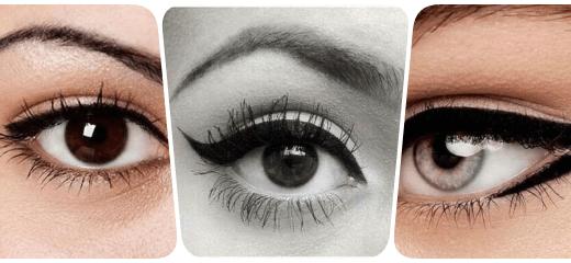 collage eyeliner