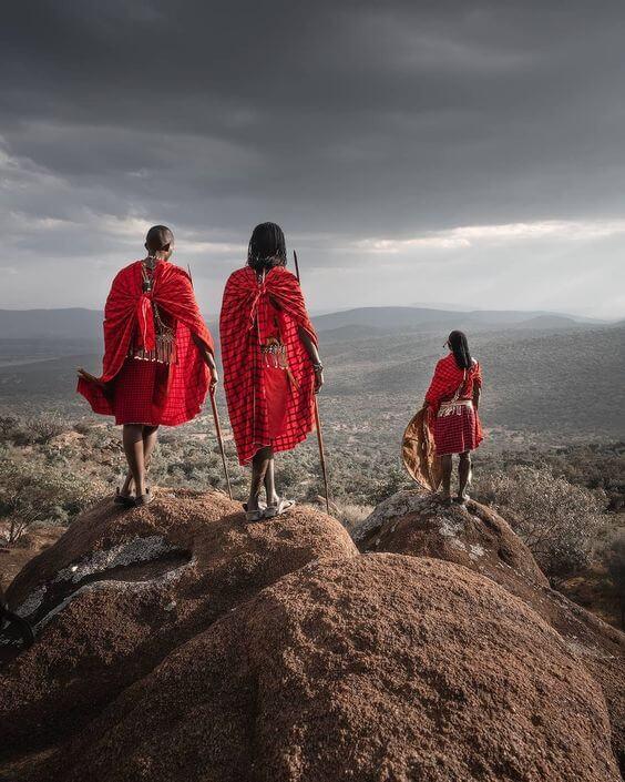 masai rojo