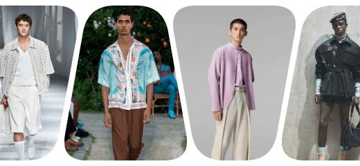 collage moda masculina