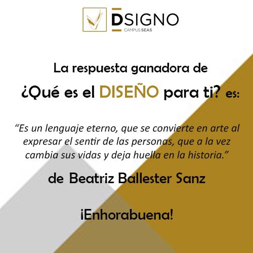 Ganadora qu es el dise o para ti dsigno for Estudiar diseno de interiores en argentina